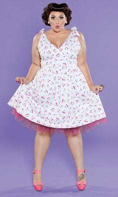 Maggie Crinoline Dress from SWAK: : Plus Size Retro Trend Spring Summer 2013