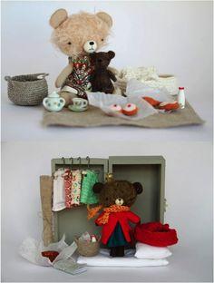 tiny bears by manomine