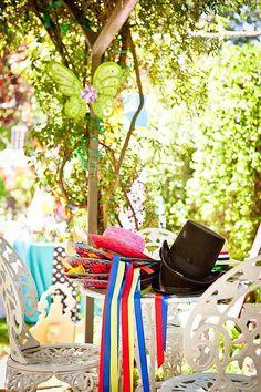 Wonderland garden party