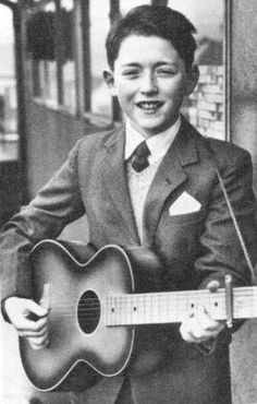 Young Rory...with his first guitar  Capo©
