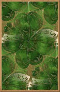 ZOOM FRASES: tarjetas vintage para st patrick's day