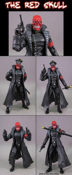 Red skull marvel legends infinite series custom action figure the red skull by jin saotome on deviantart voltagebd Gallery