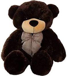 4d26fab9fb8 Buy Growth Creation Teddy Toy 5 Feet Stuffed Spongy Cute   Soft Teddy Bear ( Dark