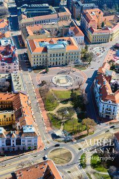 IVÁNYI AURÉL photography: Légifotózás - Szeged, Dugonics tér