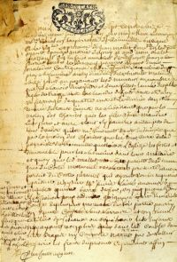 L'acte notarié, établi le 16 juin 1716, à la suite du décès de Jean Severie, à Blainville(-sur-Mer), décrit le dénuement absolu du journalier, mort d'une maladie contagieuse, ainsi que son épouse. Il fait état de l'extrême détresse des quatre orphelins âgés de un an et demi à 13 ans, et ne devant leur survie qu'à la charité de la paroisse et (peut-être) d'un oncle.
