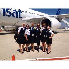 Air Transat Stewardesses @mellissa__