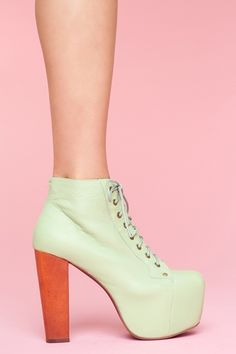 Keeping with my Mint obsession... the Lita Platform boot in mint available for $162