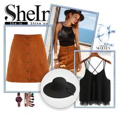 """""""SheIn 010"""" by ermina-camdzic ❤ liked on Polyvore featuring Jessica Carlyle, WithChic, vintage and shein"""