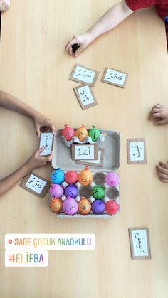 #elifba #anaokulu #değerlereğitimi Alphabet Activities, Kindergarten Activities, Activities For Kids, Learning Arabic, Kids Learning, Art For Kids, Crafts For Kids, Kids Diy, Learn Arabic Online