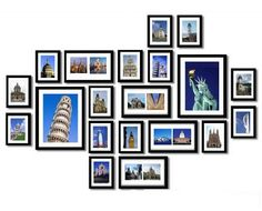 $60 for a 20-Piece Wooden Wall Photo Frame