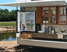 My outdoor kitchen on my new trailer!!!!  love it!!!!! nothing like having 2 kitchens when camping!!!!!!!LOL!!!!