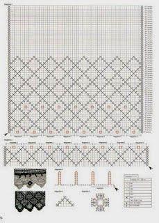 Hoje vamos dar início a uma série de postagens sobre cortinas em Crochê:                                                                   ...