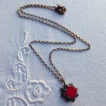 Collier Théodora rouge