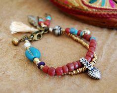 Hey, I found this really awesome Etsy listing at https://www.etsy.com/listing/130884594/bohemian-bracelet-gypsy-bracelet