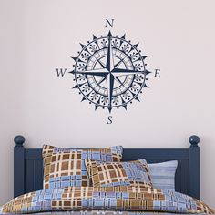 Compass Rose decal.