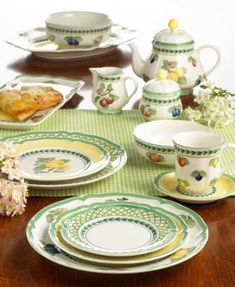 Great Villeroy U0026 Boch Dinnerware, French Garden Collection