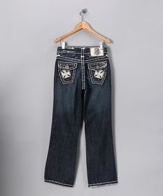 Take a look at this White Stitch Newport Beach Jeans - Boys by Laguna Beach Jean Company on #zulily today!