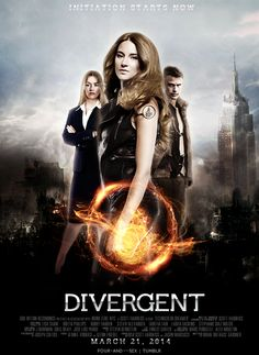 Fan made poster- so perfect i can't even divergent insurgent Divergent Film, Divergent Fan Art, Divergent Fandom, Divergent Insurgent Allegiant, Divergent Poster, Love Movie, Movie Tv, Bon Film, Veronica Roth