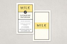 Yellow Custom Skin Care Business Card Template - A custom skin care company providing make-it-yourself cosmetics to customers can use this business card. The color palette paired with the type treatment gives this business card a one-of-a-kind feel, which is appropriate for a custom skin care company.
