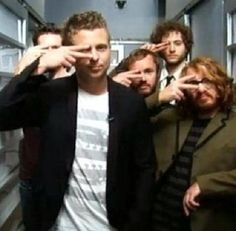 OneRepublic!!! :D You can hardly see Zach though....