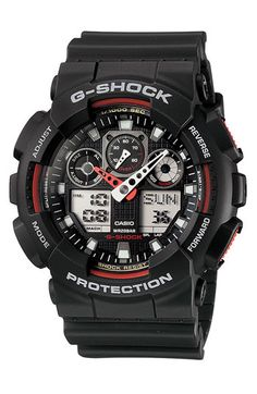 G-Shock 'Big Combi' Watch, 55mm x 51mm available at #Nordstrom
