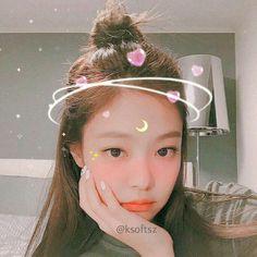 Kpop Aesthetic, Aesthetic Girl, Cute Korean Girl, Asian Girl, Yg Entertainment, Nayeon, Blackpink Video, Heart Meme, Lisa Bp