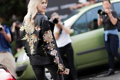 Fausto Puglisi Leather Jacket