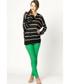 Collegiate Sweater in Black