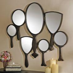 Mirror Wall Sculpture | Hand Mirror
