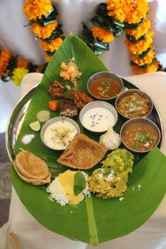 Ganpati Theme Lunch @Sheila Raheja Institute of Hotel Management - #SRIHM Mumbai. #FoodEducation