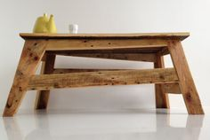 Smart, sexy and sleek tables made from Pallets!
