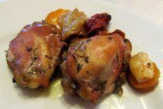 Paleo Receitas: sobrecoxa de frango à camponesa #semlactose #semovo