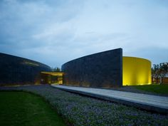 JNC Sales Office & Community Arts Center / Line and Space, LLC | ArchDaily
