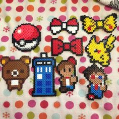 Perler bead creations by by ilove_jasaur
