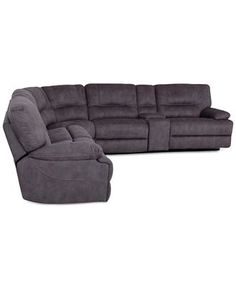 Alessandro Fabric 6 Piece Chaise Sectional Sofa With 2