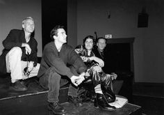 Nearly 20 years before the premiere of Thor: The Dark World, director Alan Taylor (left) alongside actors Adam Trese, Vincent Gallo, and William Forsythe answered questions following the premiere of Palookaville during the 1996 Sundance Film Festival.  Taylor premiered his first film, a short, That Burning Question, during the 1991 Sundance Film Festival and also attended the Sundance Institute Directors Lab in 1992.  Thor: The Dark World opens across the country on November 8.