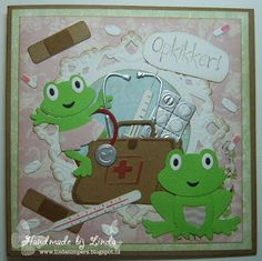 Handmade by Linda: Opkikkertje