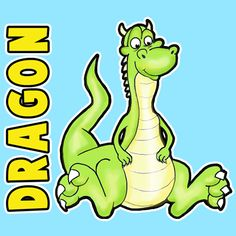 How to Draw Cartoon Dragons Step by Step Drawing Lesson