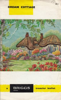 Dream Cottage Iron on Transfer Leaflet by by TheRustyNailPail