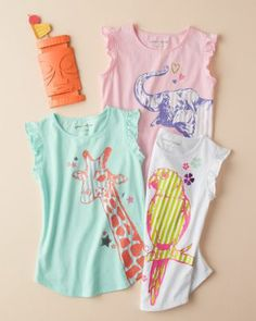 Flutterby Graphic Tee - Baby Girls & Girls
