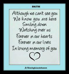 In loving memory of my son♡