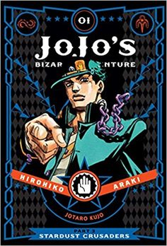 JoJo's Bizarre Adventure: Part 3--Stardust Crusaders Vol. 1: Amazon.co.uk: Hirohiko Araki: 9781421590653: Books