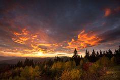 A Great Smoky Mountains sunrise