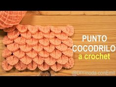 How to crochet crocodile stitch - puntadas crochet - Crochet Crocodile Stitch, Single Crochet Stitch, Crochet Stitches, Crochet Hooks, Crochet Patterns, Learn How To Knit, How To Start Knitting, Learn To Crochet, Crochet Supplies