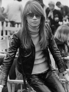 francoise hardy plus belles images en 1969