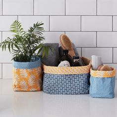 How to Make a Fabric Storage Box