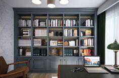 Esnafoglu Home #bookshelves #workingarea #homeoffice