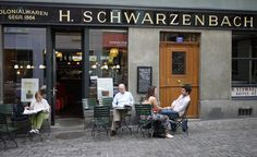 H. Schwarzenbach in Zürich's Old Town