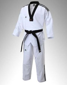 Adidas TaeKwonDo TKD 3stripes Adi Super Master 2 Uniform Uniforms Dan Dobok WTF #adidas