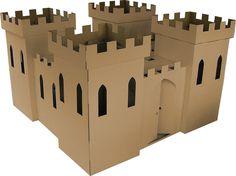 cardboard castle -